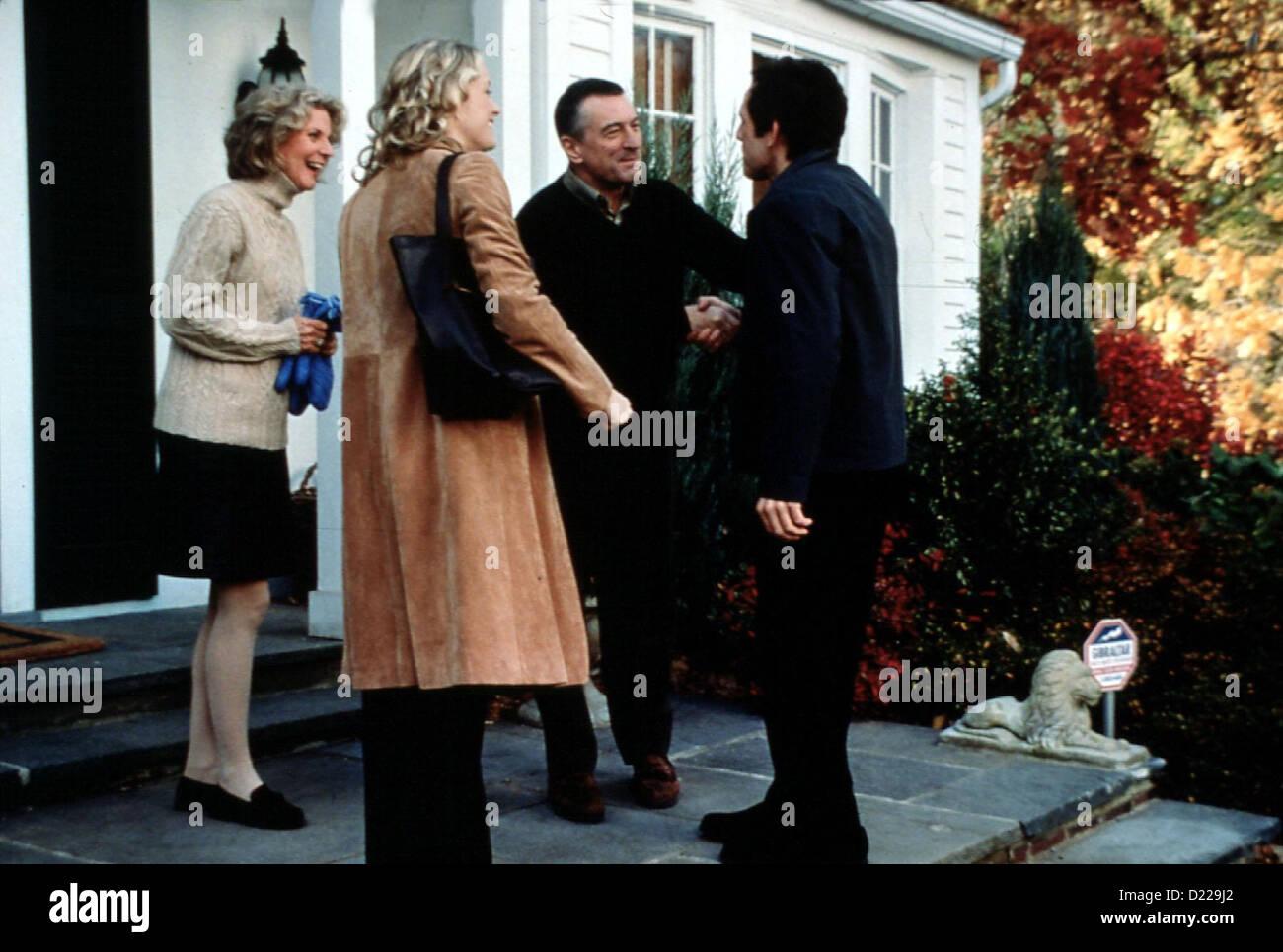 Meine Braut, Ihr Vater Und Ich  Meet Parents  Blythe Danner, Teri Polo, Robert De Niro, Ben Stiller Greg (Ben Stiller, - Stock Image