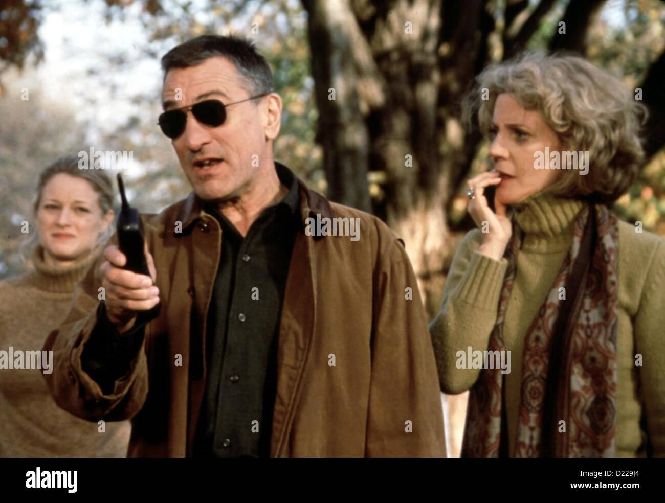 Meine Braut, Ihr Vater Und Ich  Meet Parents  Pam Byrnes (Teri Polo), Jack Byrnes (Robert De Niro), Dina Byrnes - Stock Image