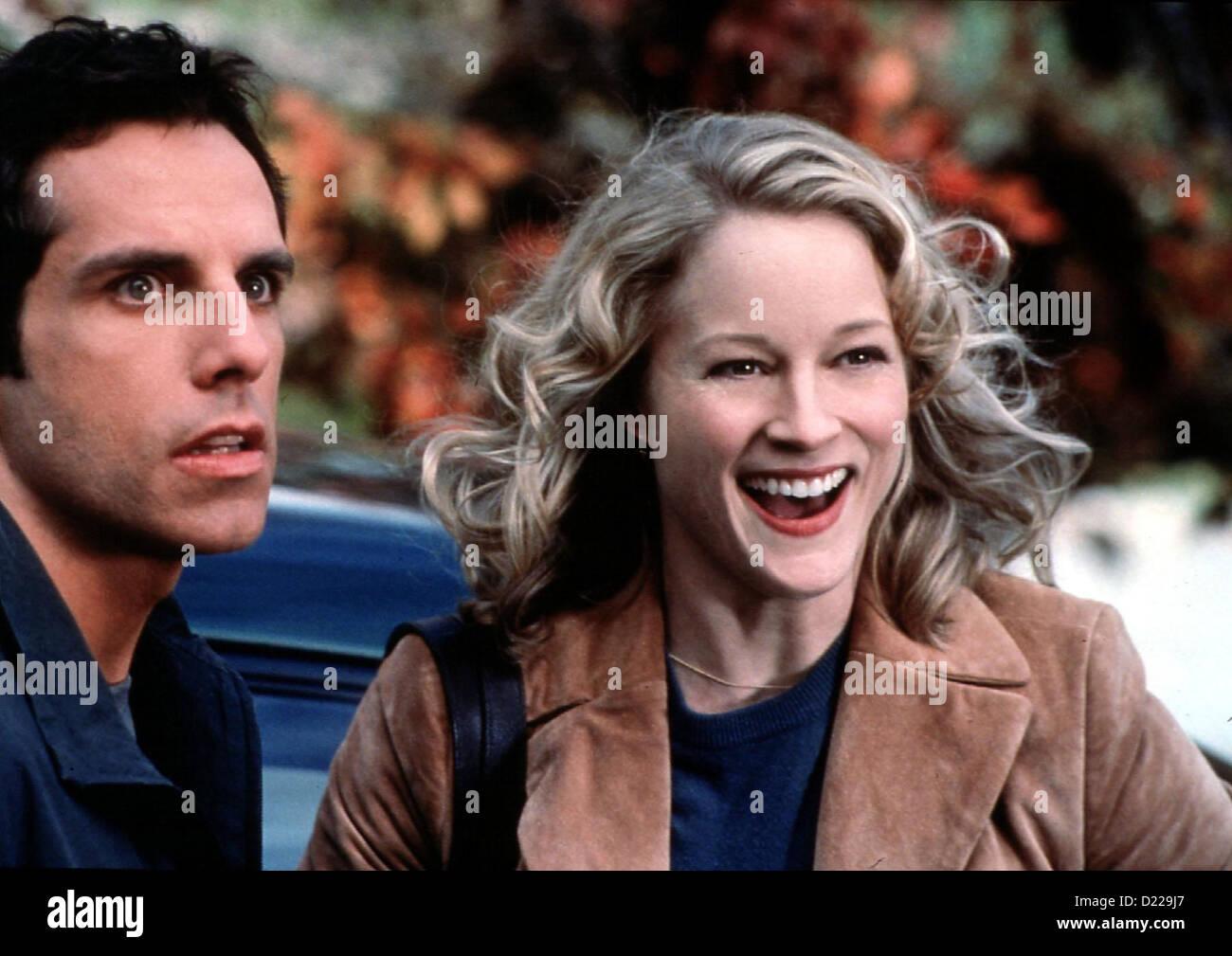Meine Braut, Ihr Vater Und Ich  Meet Parents  Ben Stiller, Teri Polo Greg Focker (Ben Stiller), Pam Byrnes (Teri - Stock Image