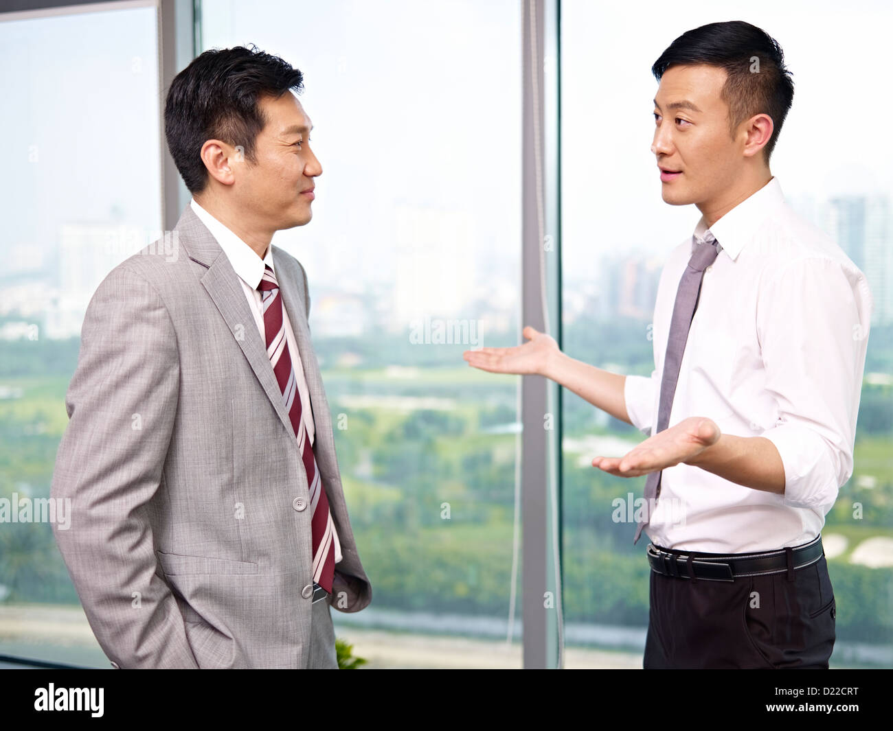 Asian Business People - Stock Image