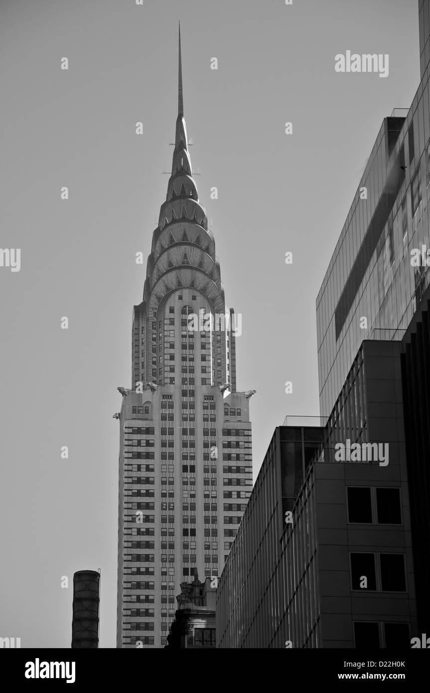 Chrysler Building New York - Stock Image