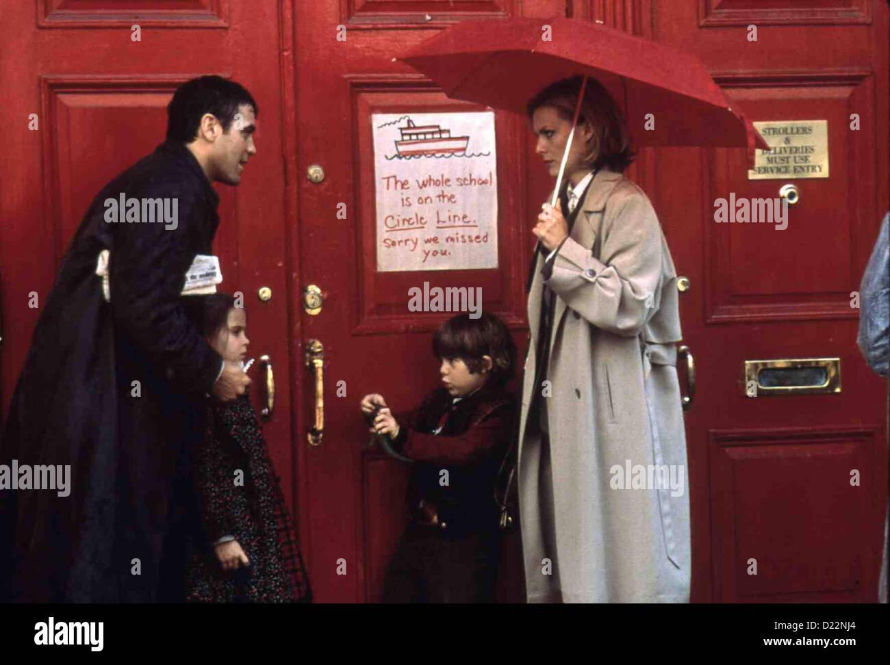 Tage Wie Dieser  One Fine Day  George Clooney, Mae Whitman, Alex D. Linz, Michelle Pfeiffer Melanie Parker (Michelle Stock Photo