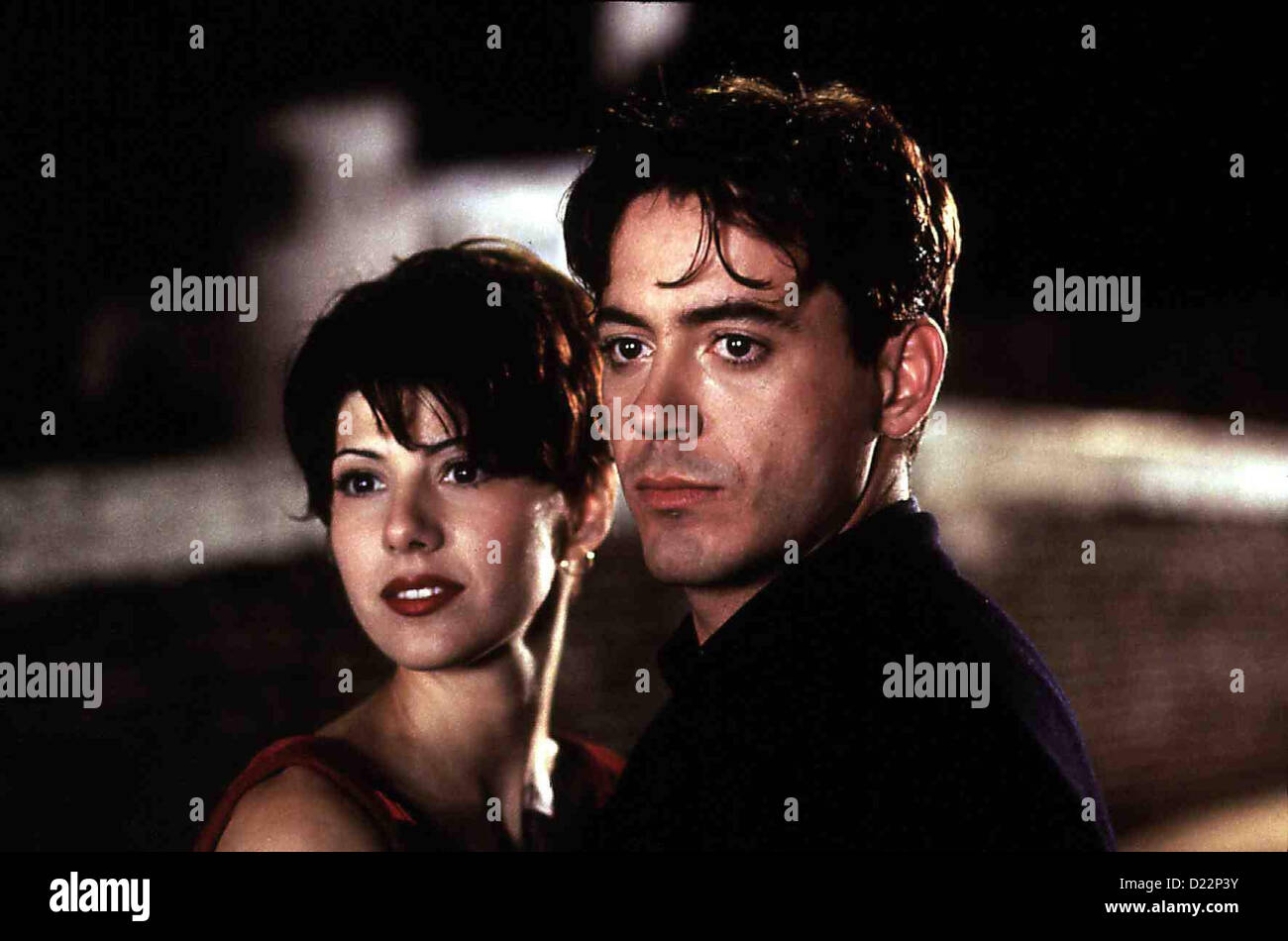 Nur Fuer Dich - Only You  Only You  Marisa Tomei, Robert Downey Jr. Doch dann erfaehrt Faith (Marisa Tomei), dass - Stock Image