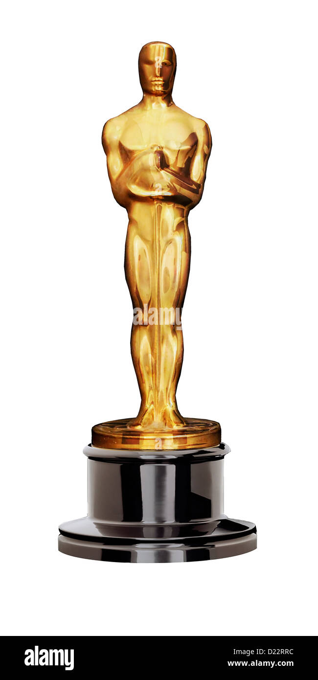 Oscars - The academy award (Editorial use only) - Stock Image
