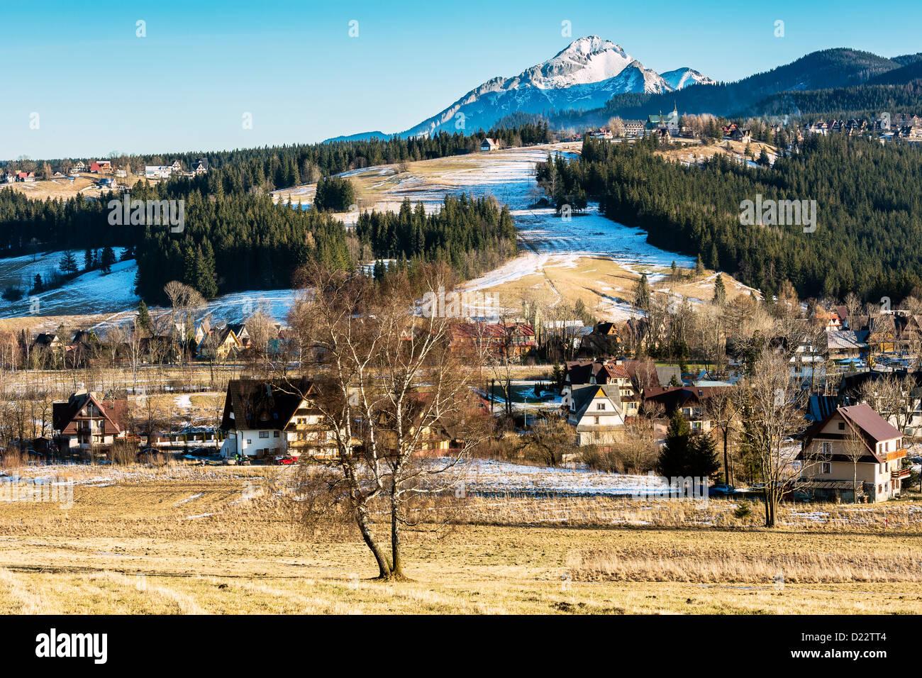 Scenic areas around Zakopane - Stock Image