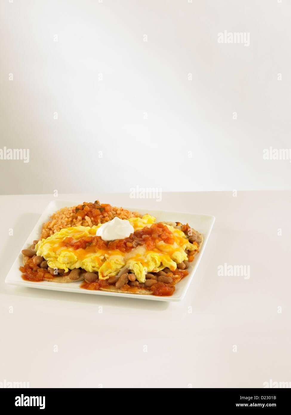 Huevos Rancheros - Stock Image
