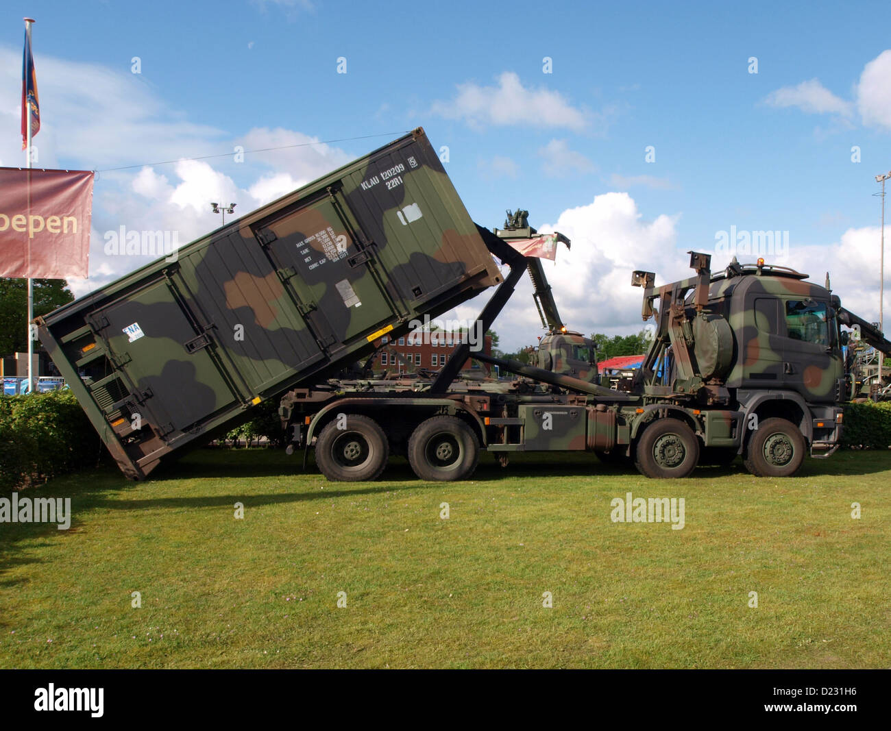 Army Open Day 2012 in the Netherlands Oirschot, Stock Photo
