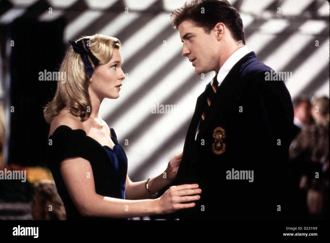 Der Aussenseiter  School Ties  Amy Locane, Brendan Fraser Sally Wheeler (Amy Locane) und David Green (Brendan Fraser) - Stock Image
