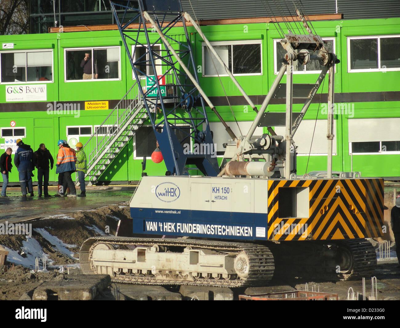 Hitachi KH 150 Leiden - Stock Image