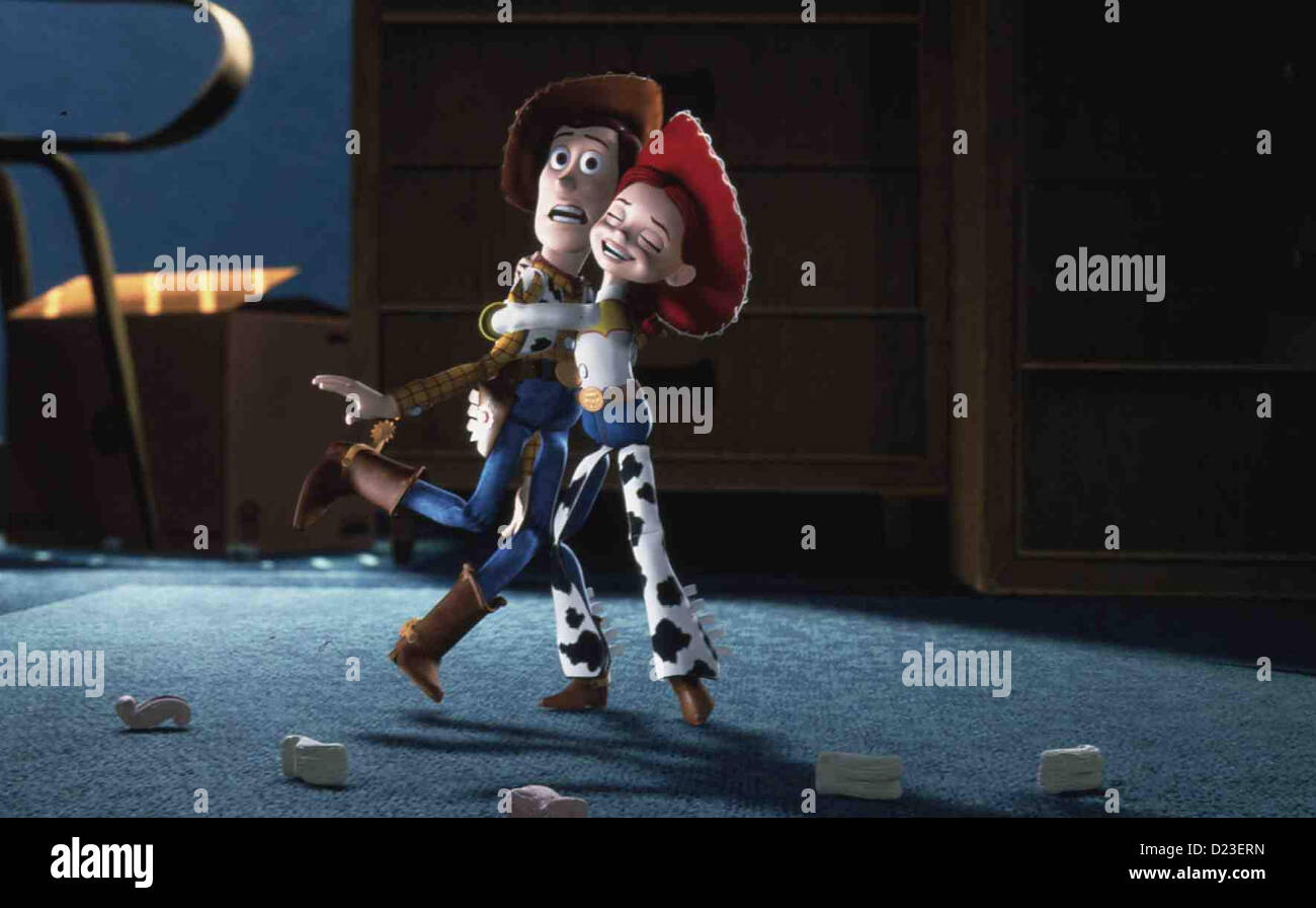 Toy Story 2 Woody Jessie Local Caption