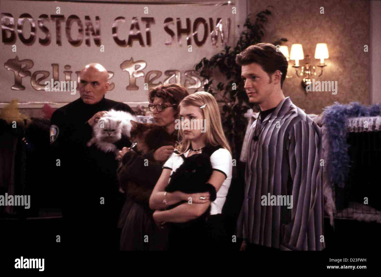 Sabrina - Total Verhext: Katzenjammer  Sabrina Teenage Witch: Cat Showdown  Melissa Joan Hart Das Preisgeld könnte - Stock Image