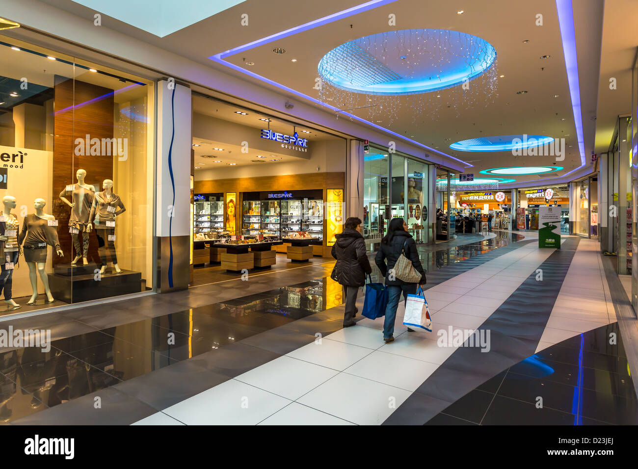Parma Eurosia shopping mall, Parma, - Stock Image