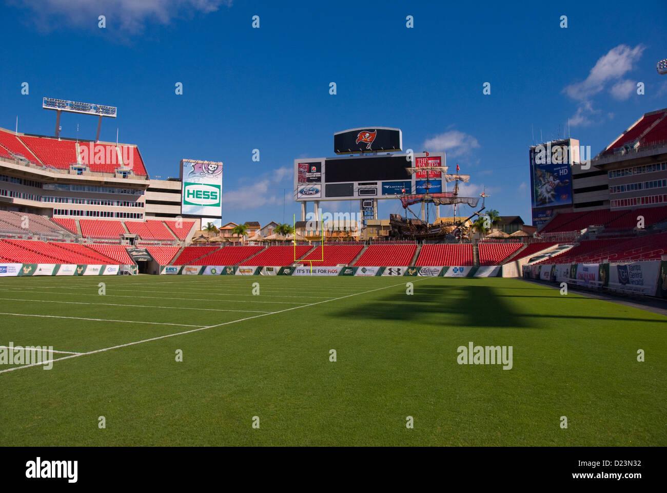 Raymond James Football Stadium In Tampa Florida Where The Tampa Bay Stock Photo Alamy