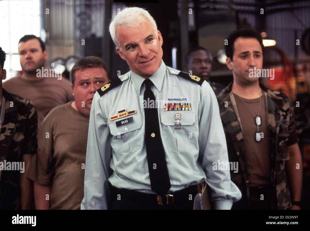 Immer Aerger Mit Sergant Bilko  Sgt. Bilko  Steve Martin Sgt. Bilko (Steve Martin,m) ist Offizier in der Armee. - Stock Image