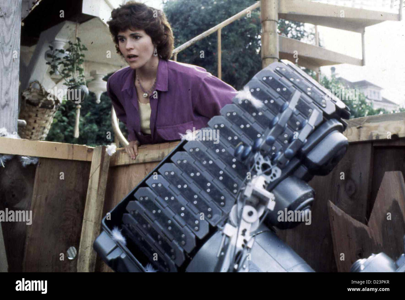 Short Circuit 1986 Stock Photos Images 10 Johnny 5 From And 2 Nummer Lebt Ally Sheedy Und Roboter Local