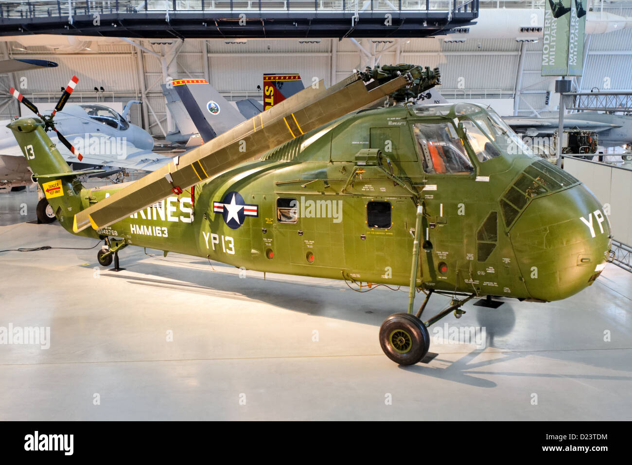 Sikorsky UH-34D Seahorse (S-58A) Stock Photo