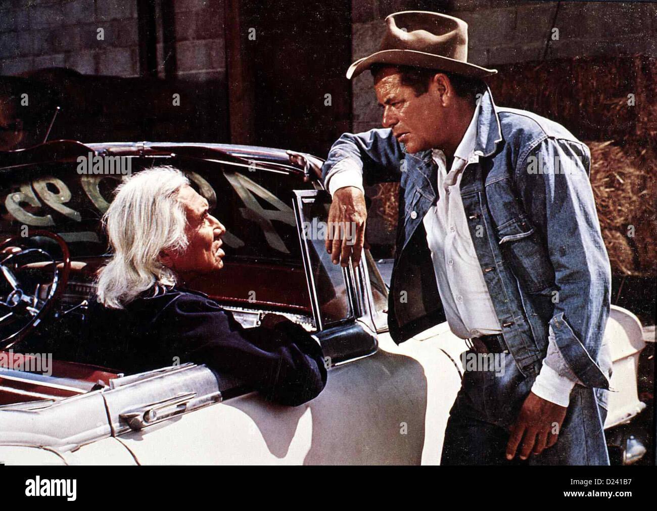 Smith - Ein Mann Gegen Alle  Smith!  Chief Dan George, Glenn Ford Um seinen Freund, dem in Schwierigkeiten geratenen Stock Photo