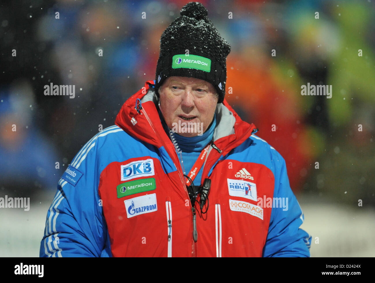 There is a 25-year-old coach in Russian biathlon