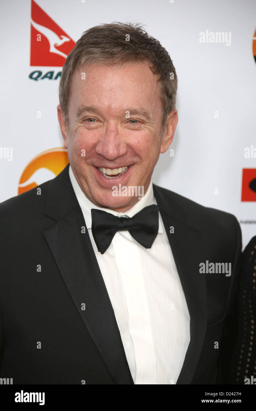 Actor Tim Allen attends the G'Day USA Los Angeles Black Tie Gala at Hotel JW Marriott in Los Angeles, USA, on - Stock Image