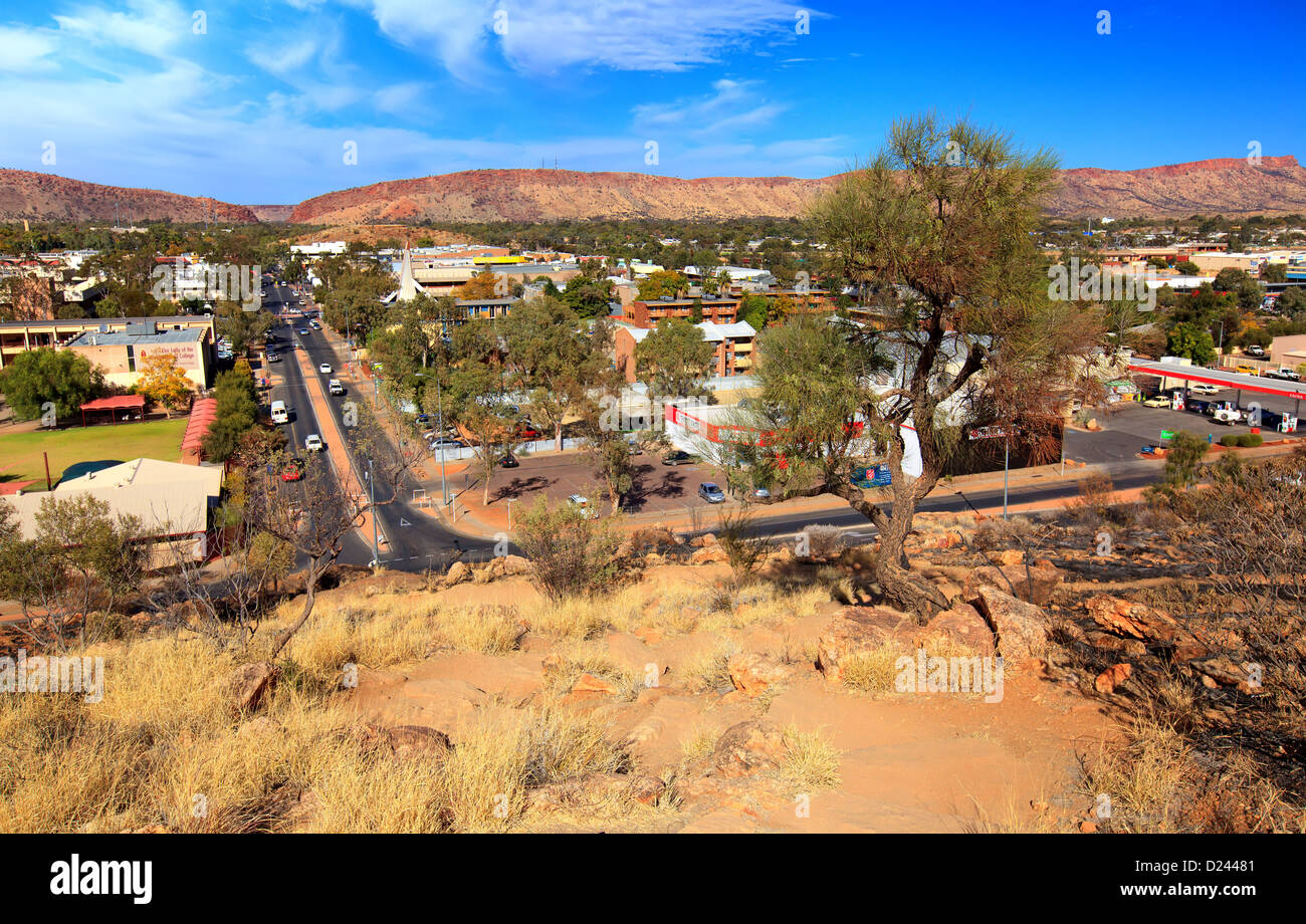 Alice Springs Northern Territory Australia - Stock Image