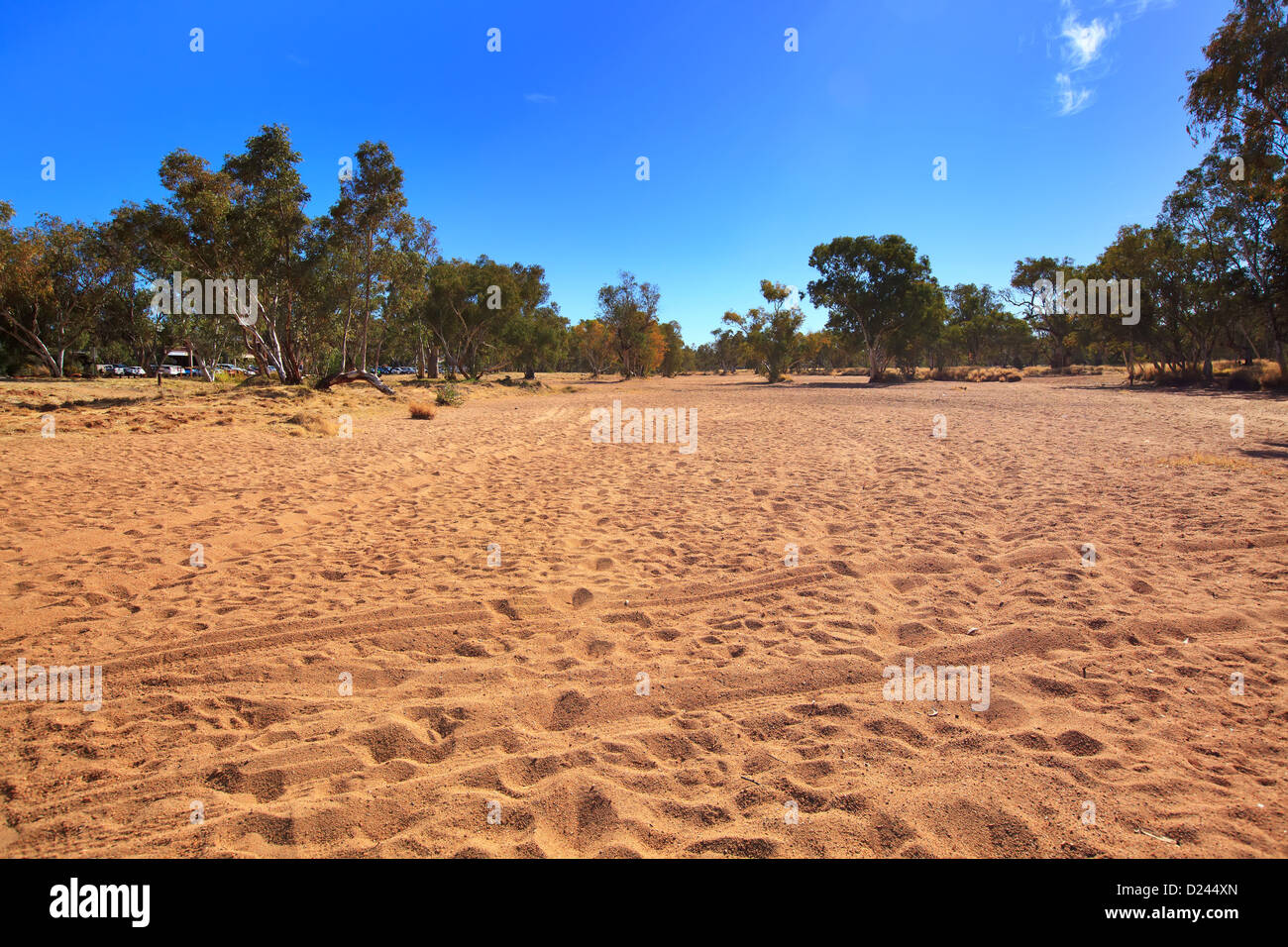 Todd River Alice Springs - Stock Image