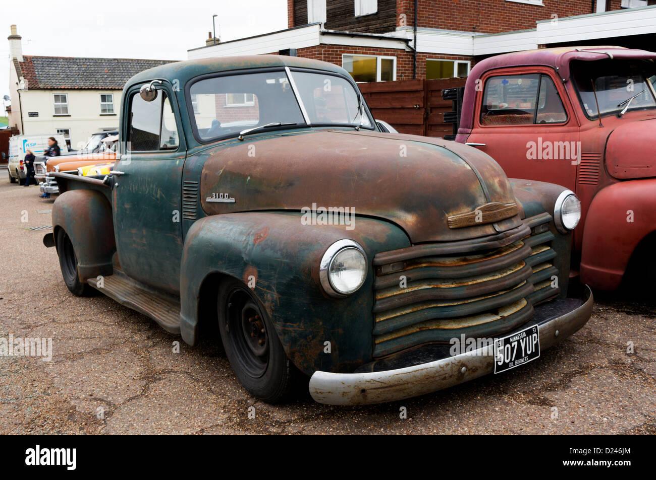Old Chevrolet Pickup Truck In Stock Photos & Old Chevrolet Pickup ...