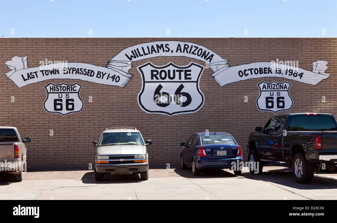 Williams arizona stock photos williams arizona stock for Route 66 garage metz