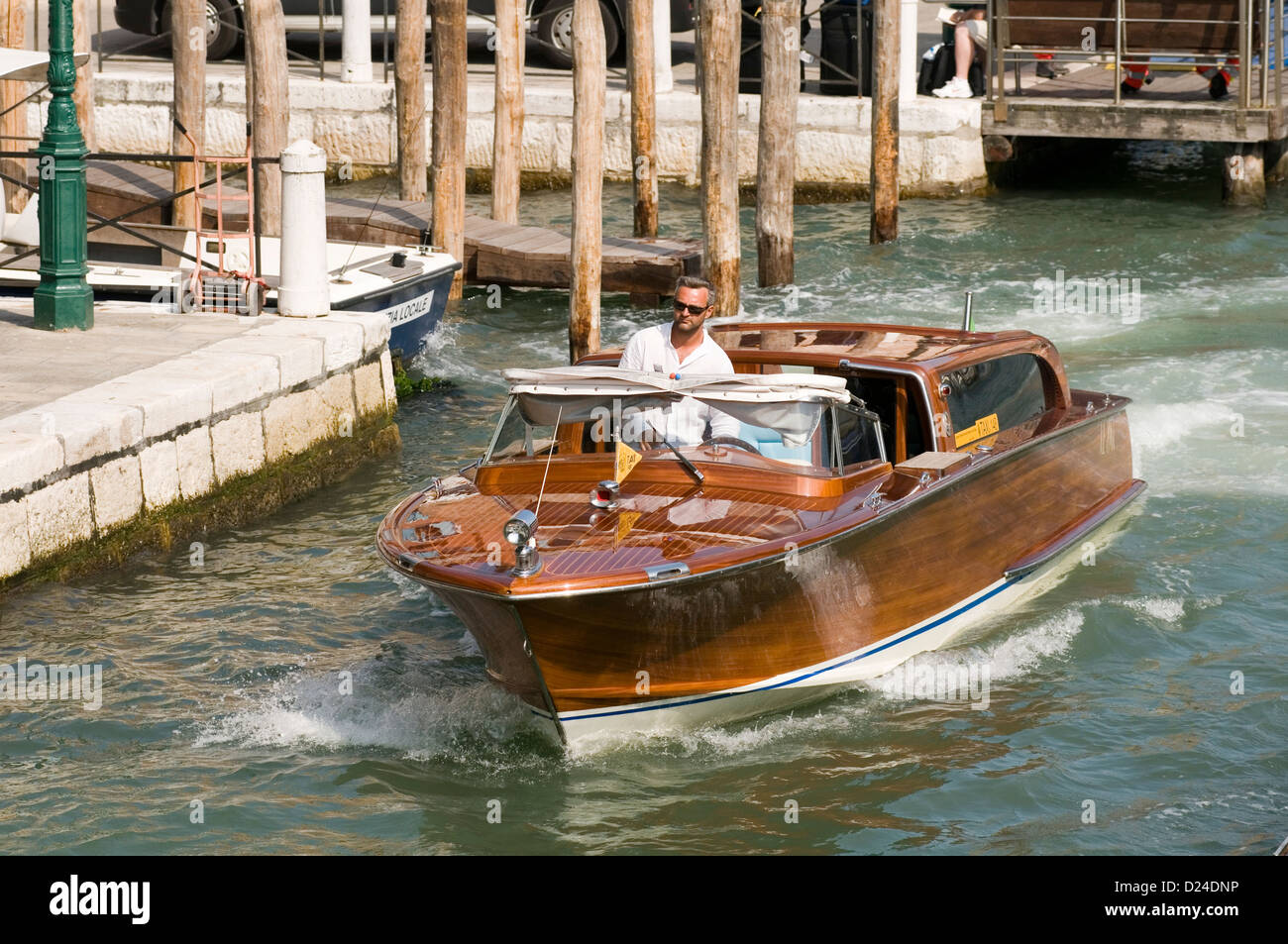 venice italy water taxi taxis italian canal canals getting around