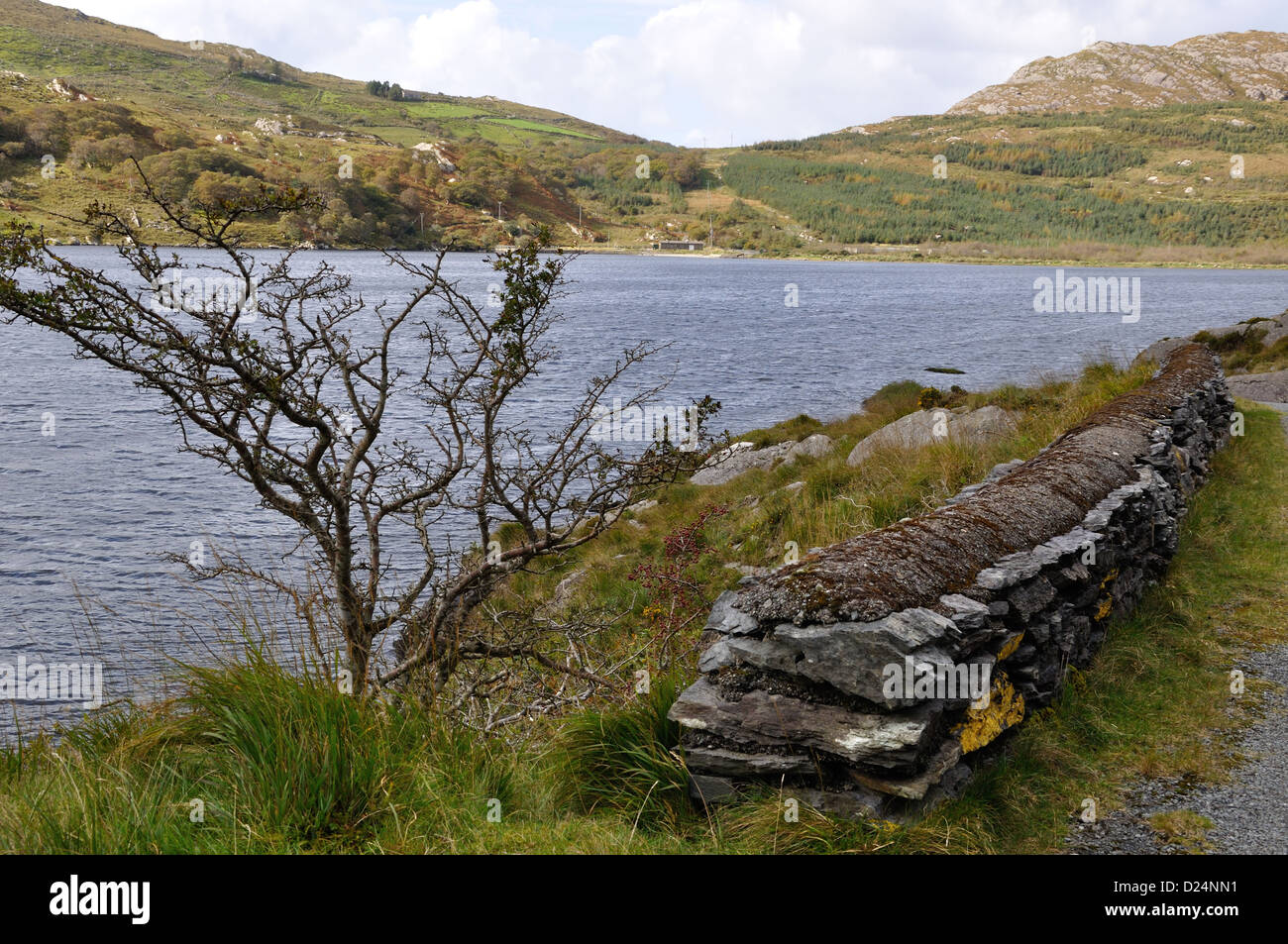 Glenbeg Lough,Ardgroom,Beara Peninsula,West Cork,Ireland Stock Photo