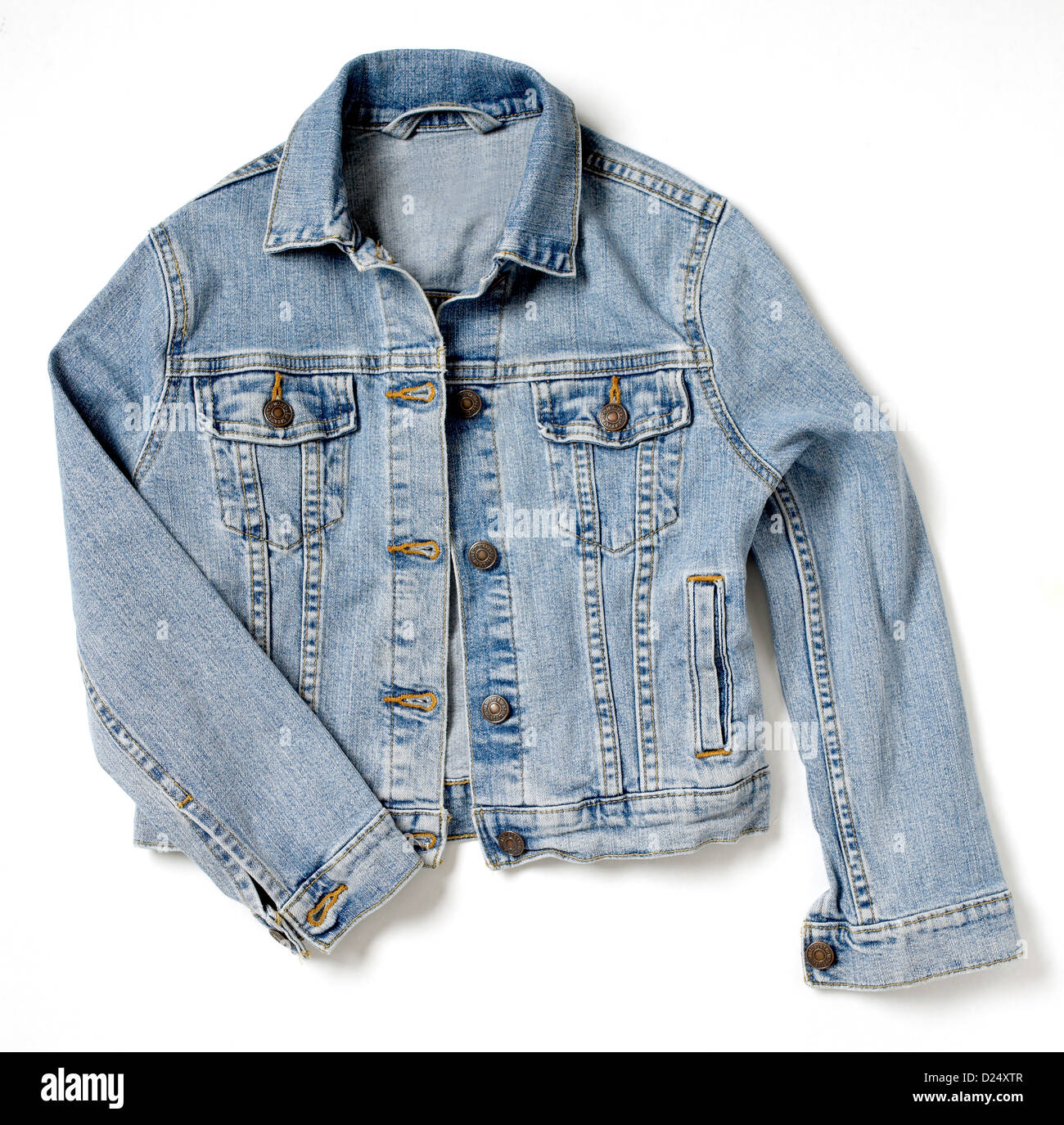 Denim jacket - Stock Image