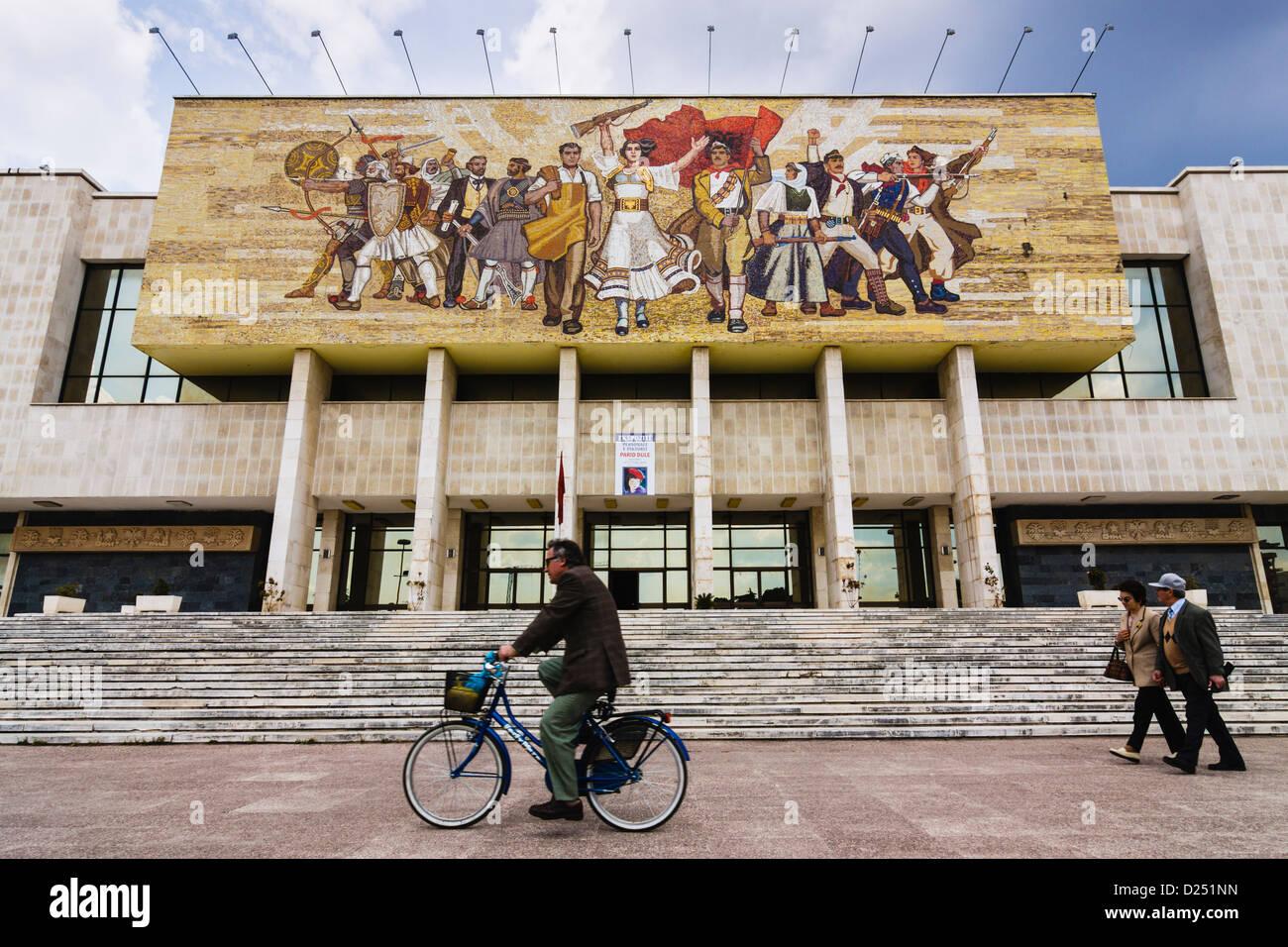 National History Museum Tirana Albania Stock Photo