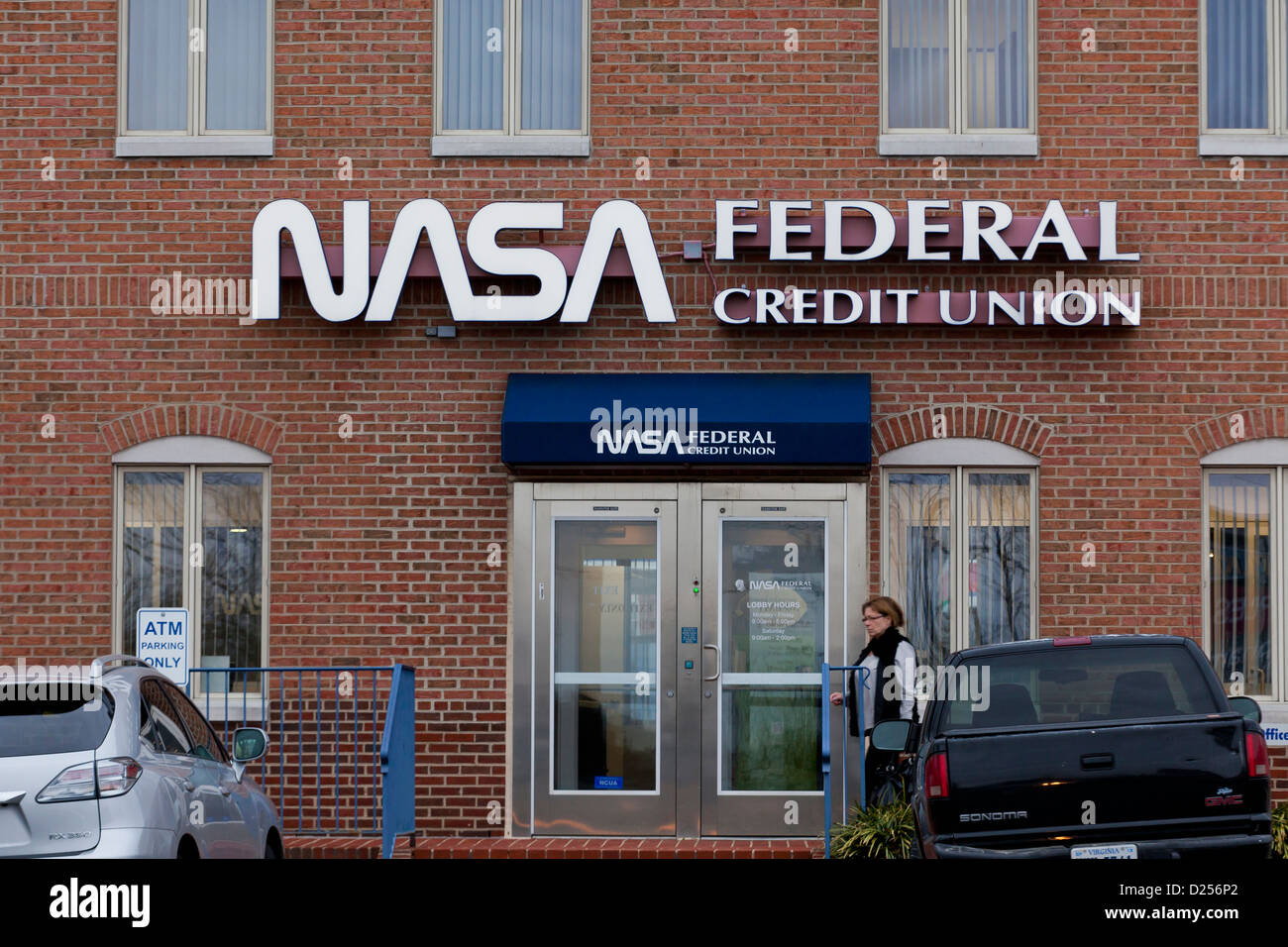 NASA Federal Credit Union building - Stock Image