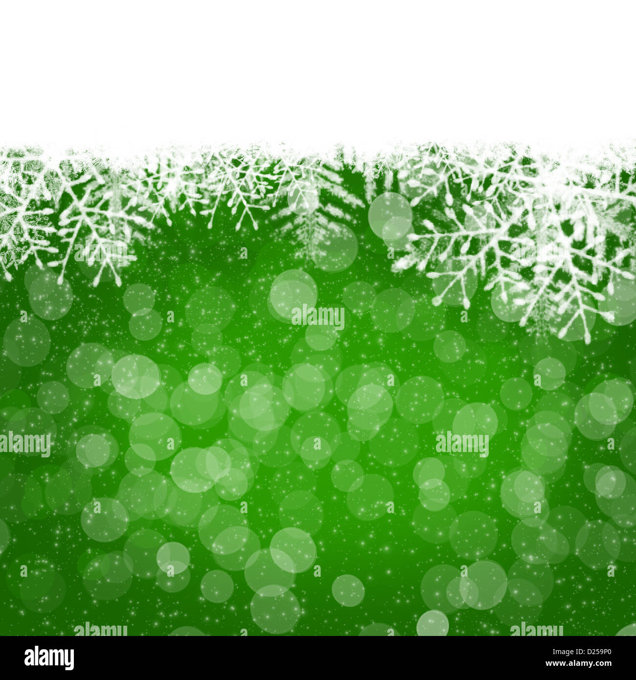 Christmas abstract blurred background - Stock Image