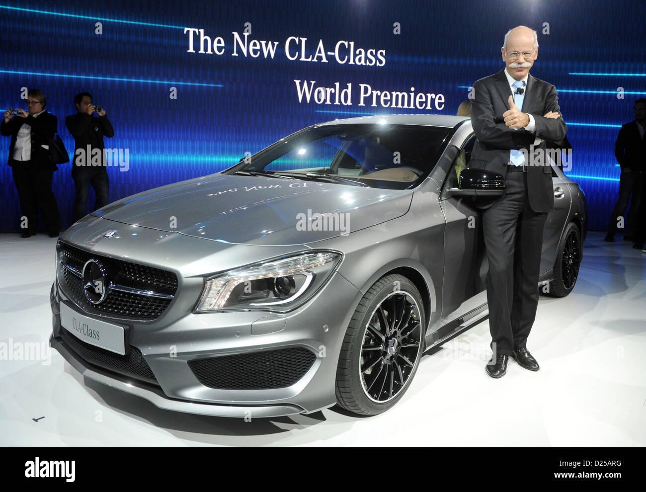 Ceo of Daimler Director Mercedes Benz Cars Stock Photos ...