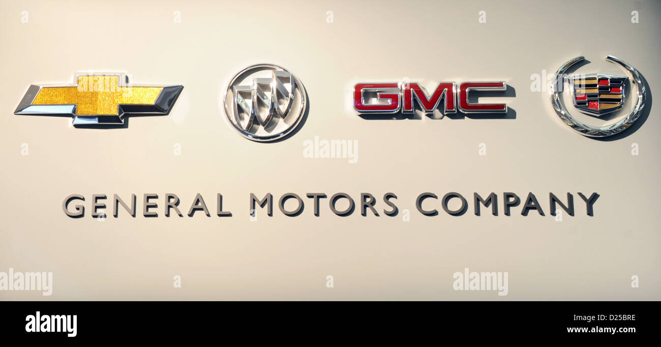 The Car Brands Of Us Car Manufacturer General Motors Gm Showing