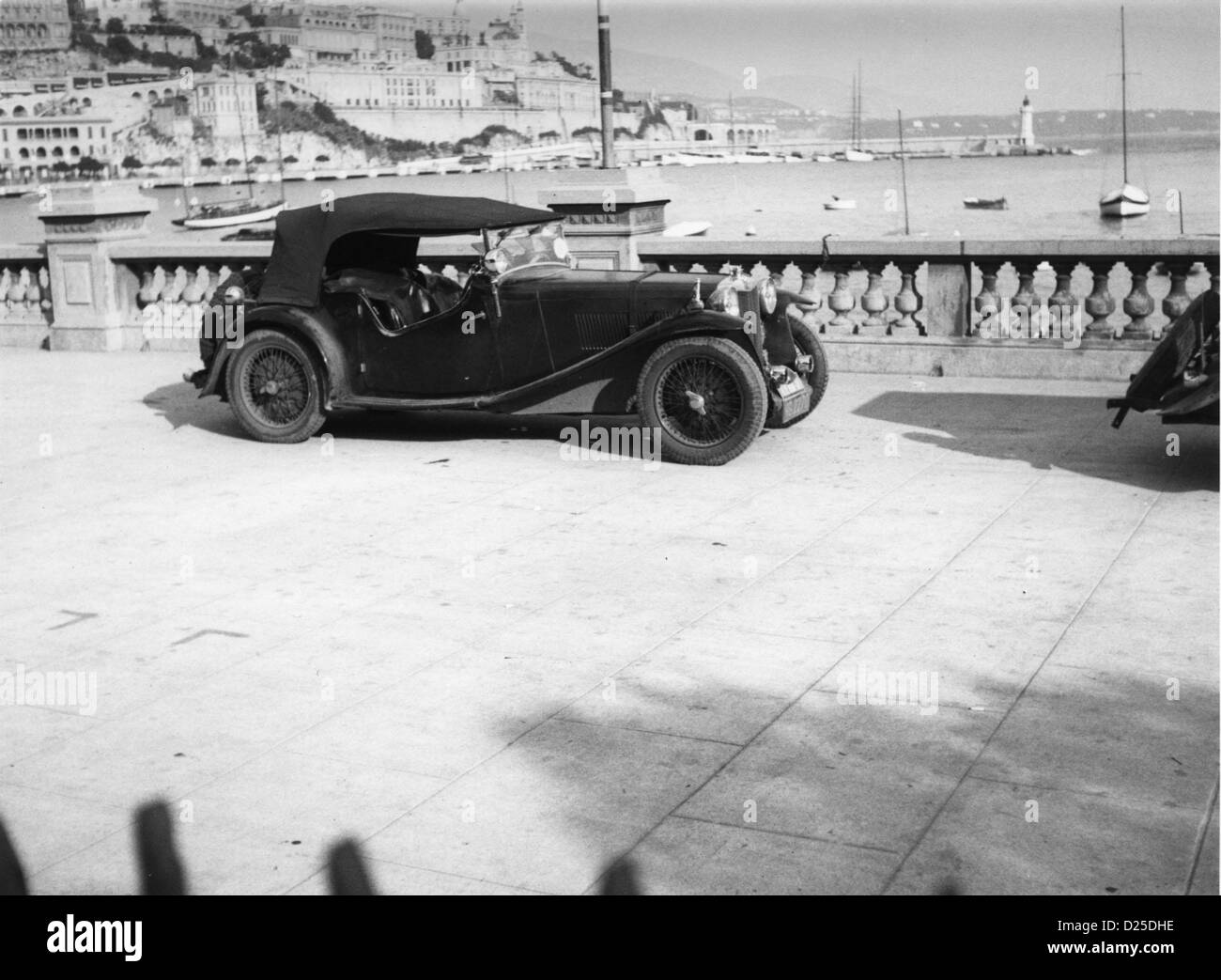 1933 MG Magnette K1 4 seater Monte Carlo 1934 - Stock Image