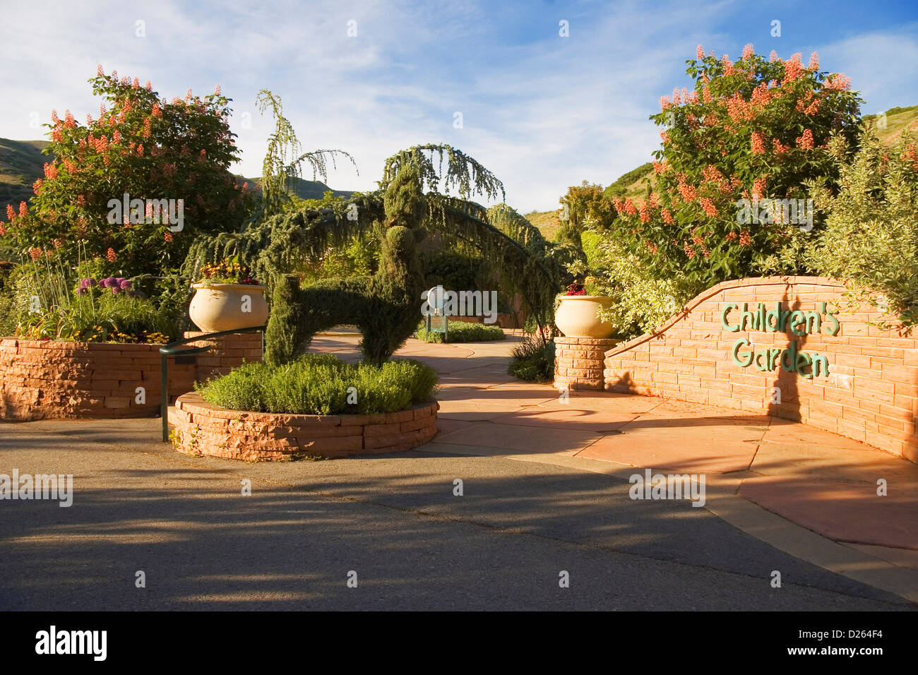 Red Butte Garden Salt Lake City Stock Photos & Red Butte Garden Salt ...