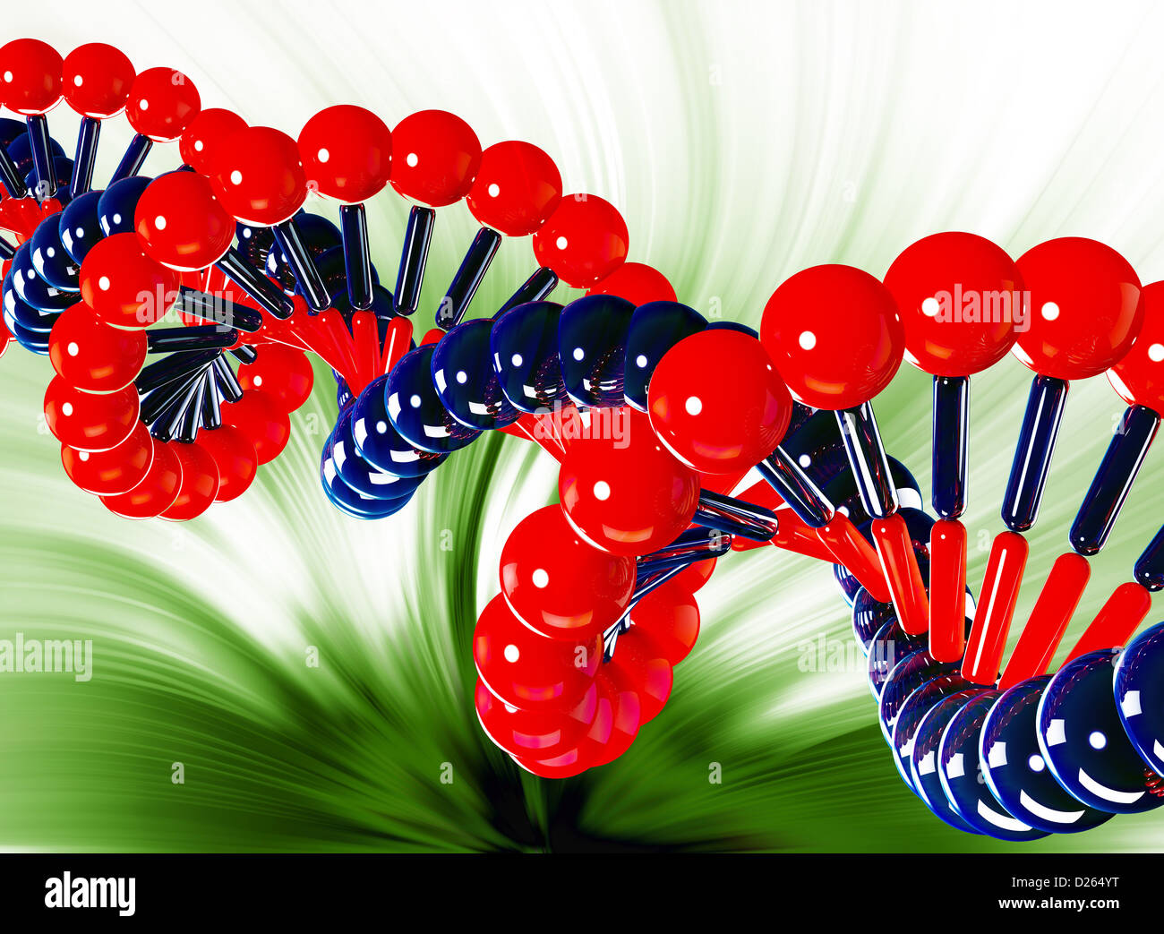 DNA Abstract - Stock Image
