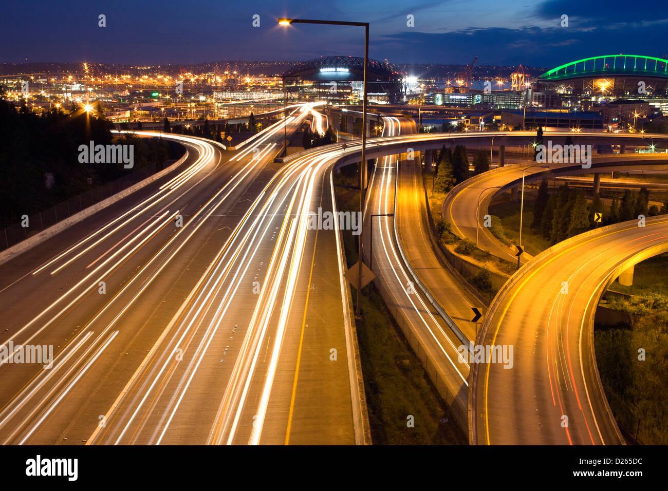 Interstate Highway Interchange Stock Photos & Interstate Highway ...
