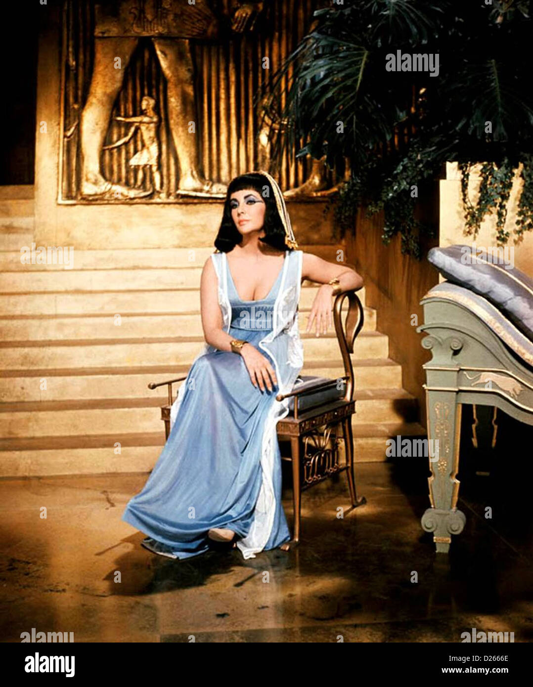 Cleopatra 1963 20th Century Fox Film With Elizabeth Taylor Stock Photo Alamy