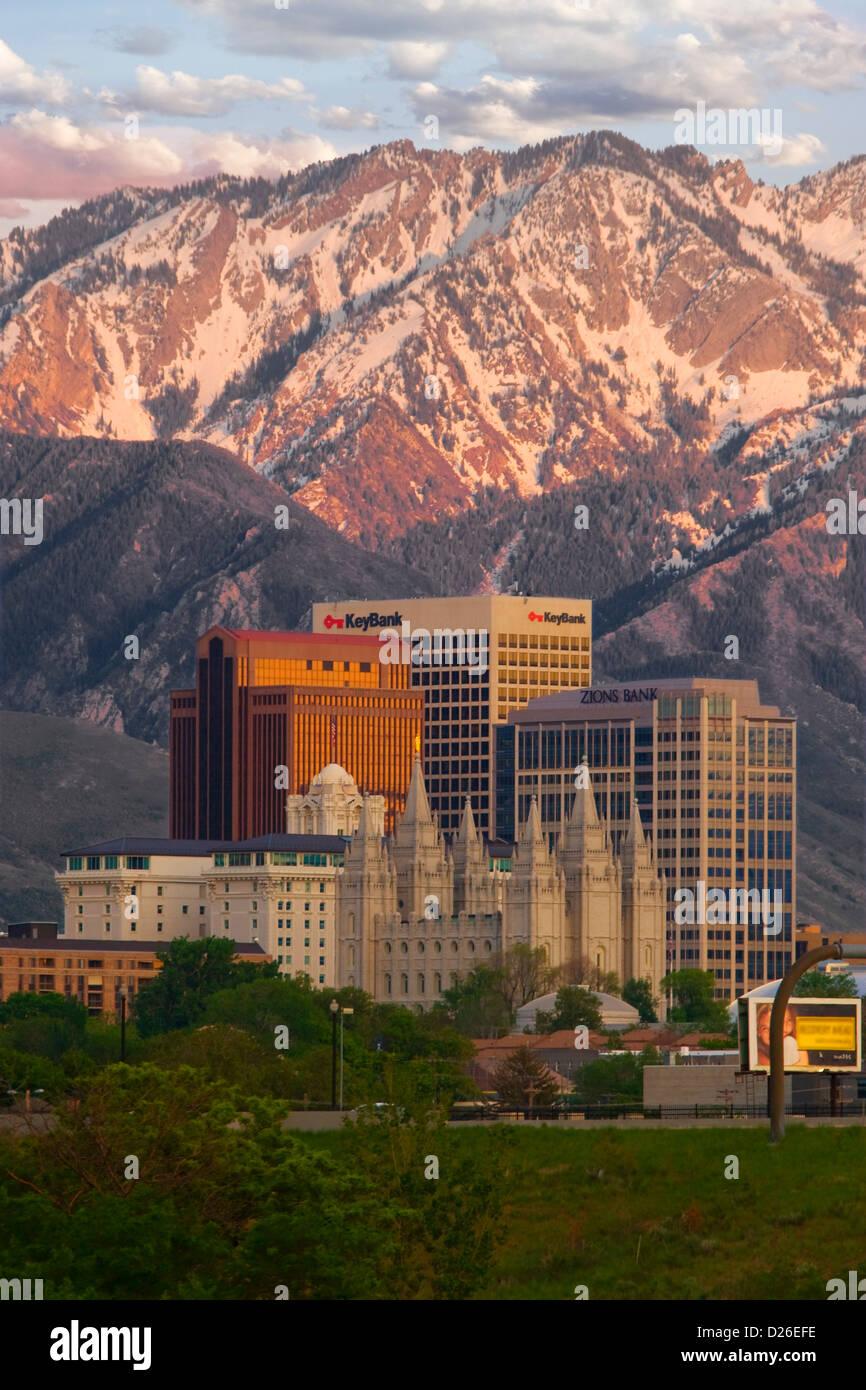 Salt Lake City Skyline Stock Photos Amp Salt Lake City