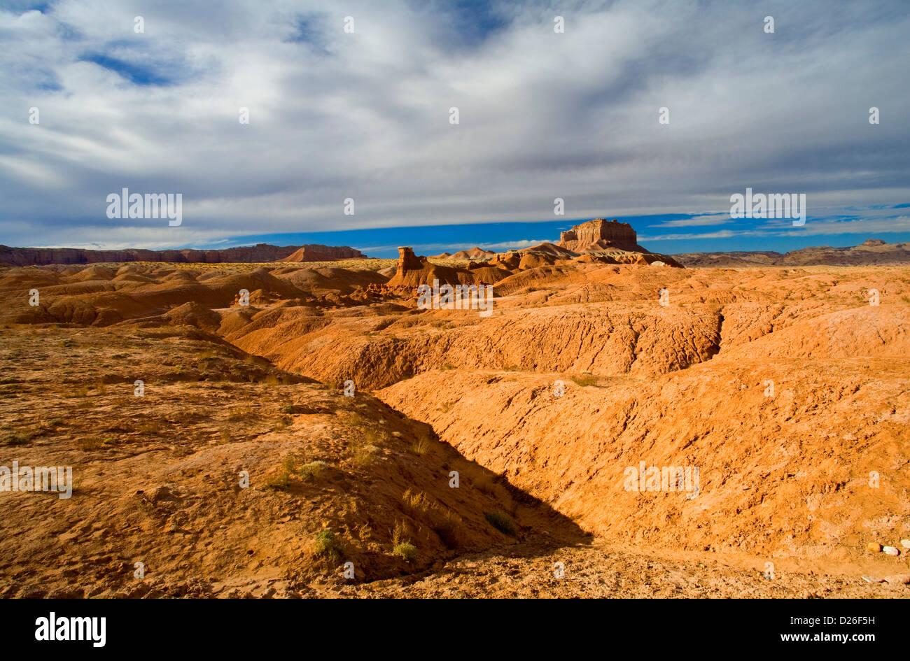Desert Folds - Stock Image