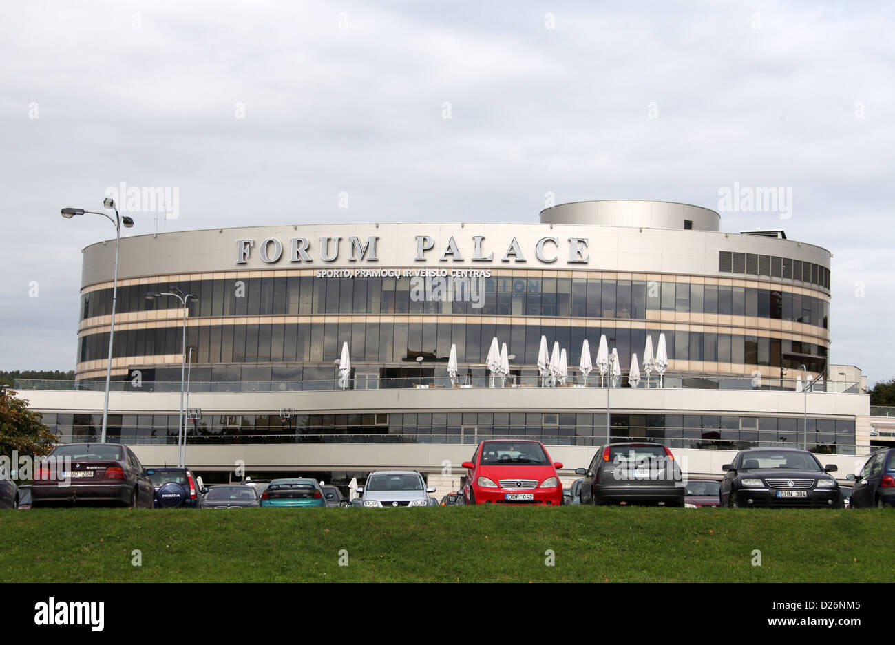 Forum Palace In Vilnius Stock Photo 53009157 Alamy