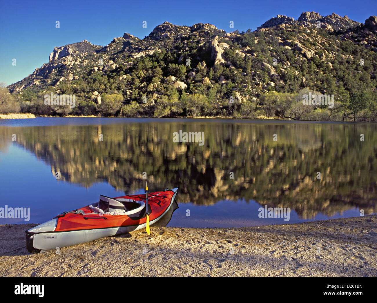 Granite Basin Lake Az.Granite Mountain Prescott Arizona Stock Photos Granite Mountain