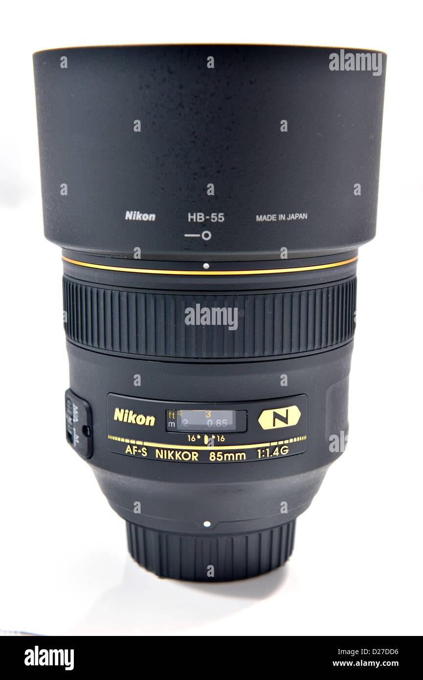 85mm Stock Photos Images Alamy Nikon Af F18d Nikkor S F 14g Professional Portrait Lens Image