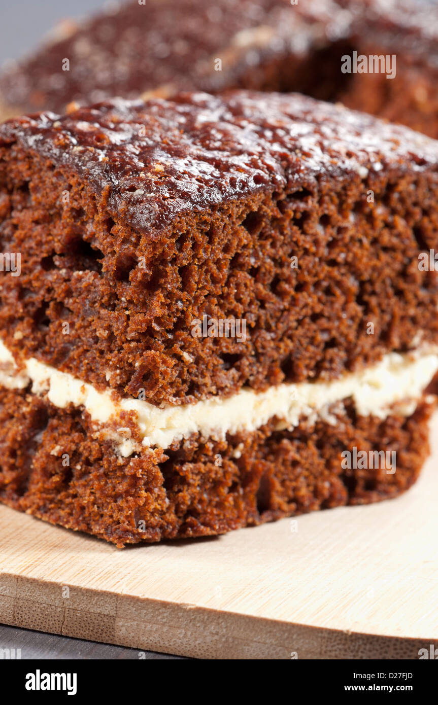 Long forgotten cake recipe. With a delicious, delicate and delicious cake Prague
