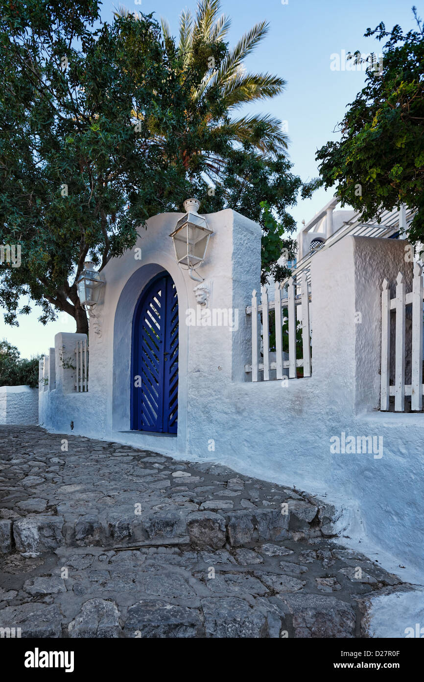 Traditional mansion at Hydra, Greece - Stock Image