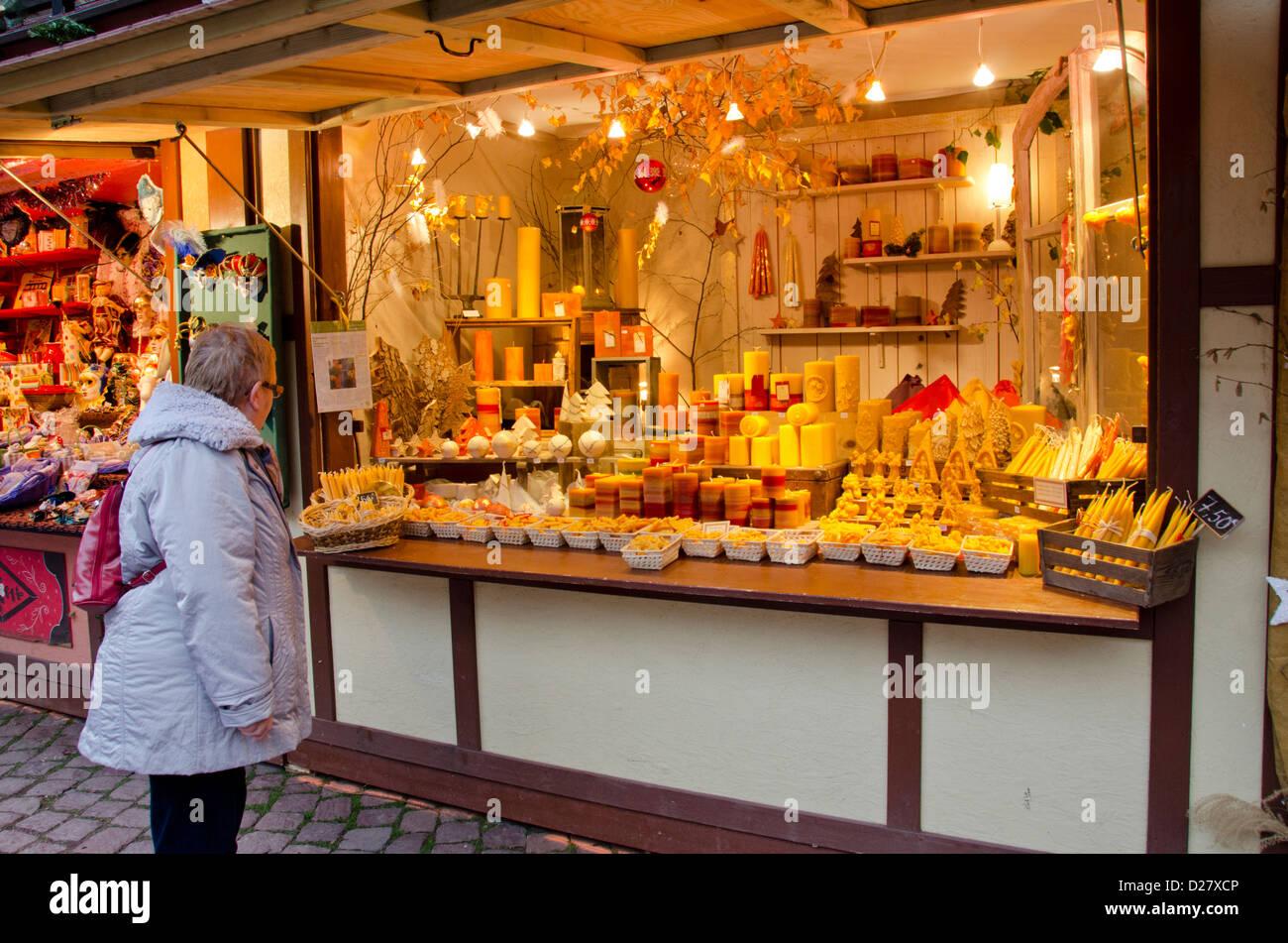 Colmar Christmas Markets France.France Alsace Colmar Christmas Market In The Historic