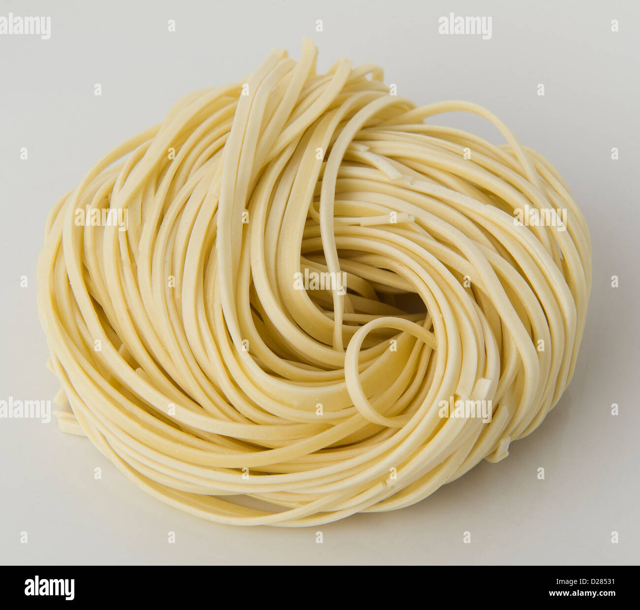 dried noodles - Stock Image