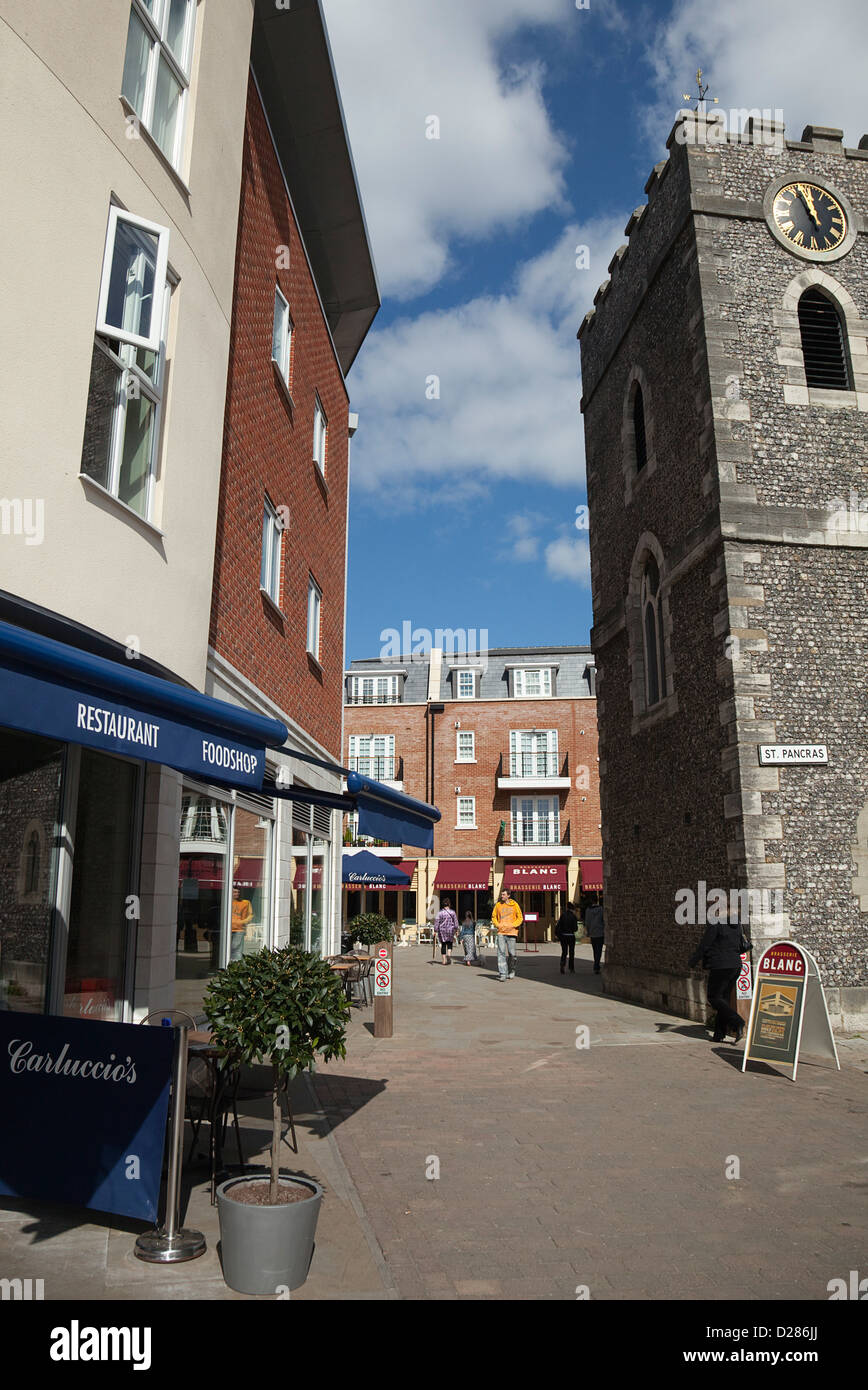 England West Sussex Chichester Square With Carluccios And